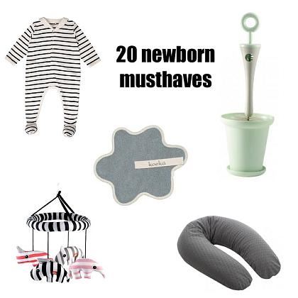 Kindermusthaves - De 20 newborn musthaves!