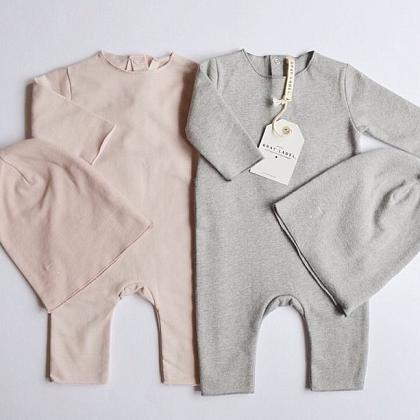 Kindermusthaves - Babysuit Gray Label