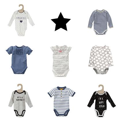 Kindermusthaves - 8 x Budget Rompers!