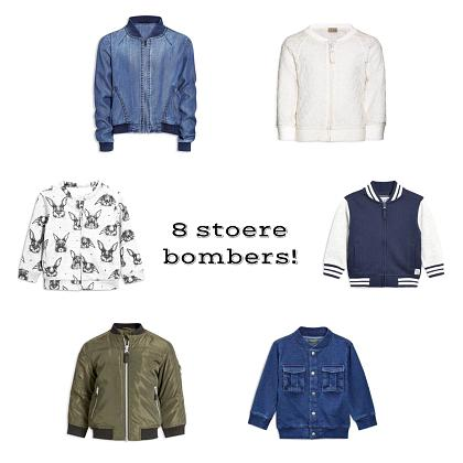 Kindermusthaves - 8x stoere bombers!