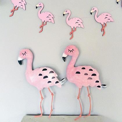 Kindermusthaves - Lovely flamingo's!
