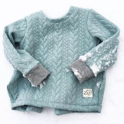 Kindermusthaves - PRE ORDER TIP: Quilt Sweater!