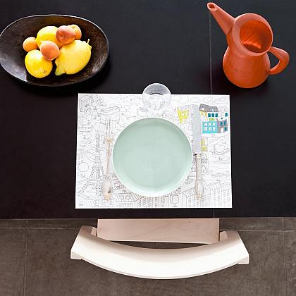 Kindermusthaves - Placemat om in te kleuren!
