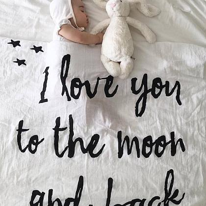 Kindermusthaves - I love you to the moon and back!