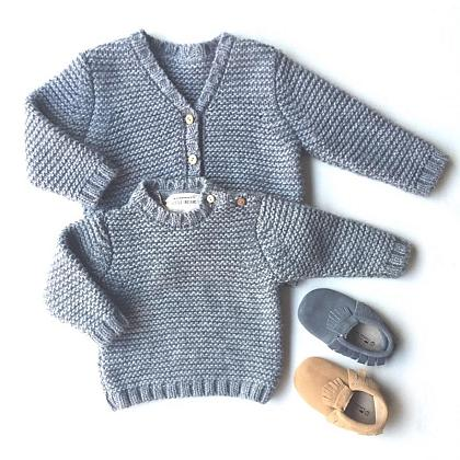 Kindermusthaves - Sweater or Cardigan?