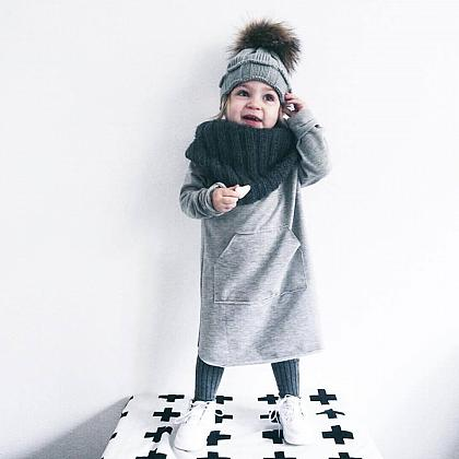 Kindermusthaves - Oversized sweater dress!