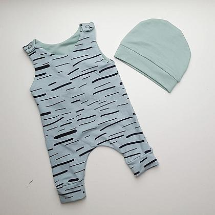 Kindermusthaves - Old green jumpsuit!