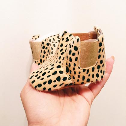 Kindermusthaves - Leopard booties