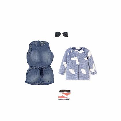 Kindermusthaves - Denim playsuit!