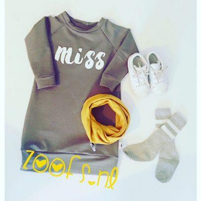 Kindermusthaves - Sweaterdress MISS!