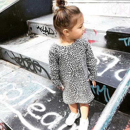 Kindermusthaves - Leopard dress!