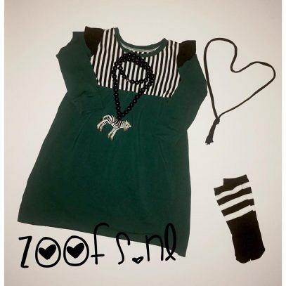 Kindermusthaves - Stoere peplum dress!