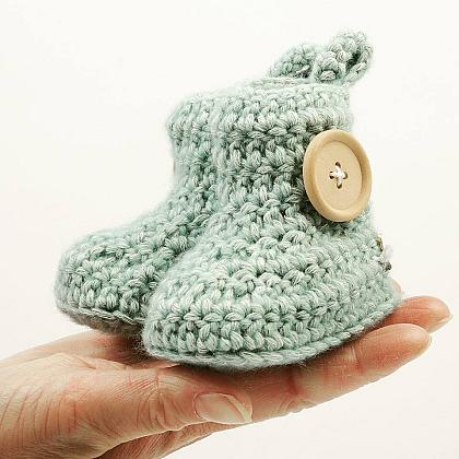 Kindermusthaves - Mint booties!