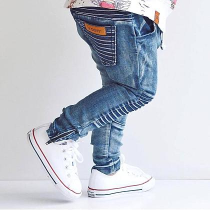 Kindermusthaves - Denim biker pants!