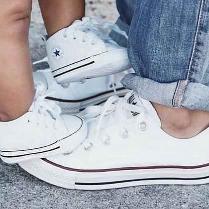 Kindermusthaves - Twinning Converse!