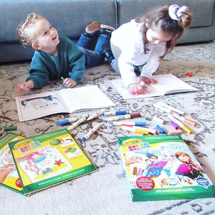 Kindermusthaves - IN THE SPOTLIGHTS: Color Wonder van Crayola!