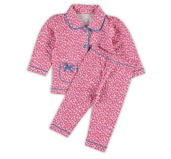 0e6f775ede1 Claesen's pyjama voor meisjes in de kleur roze. Deze tricot pyjama is  gemaakt van katoen met lycra en is verkrijgbaar in de maten 56-62 t/m 80-86.