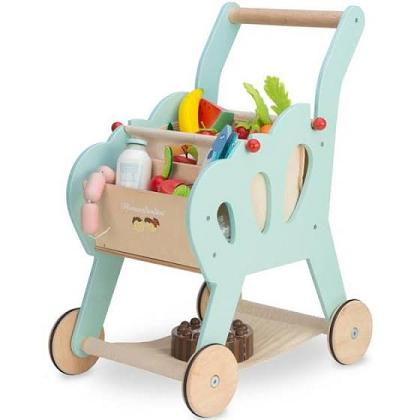 Kindermusthaves - Toffe houten trolley!