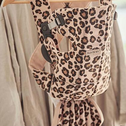 Kindermusthaves - Geweldige draagzak met leopardprint!
