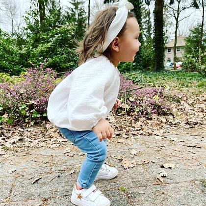 Kindermusthaves - Toffe witte sneakers van Shoesme!