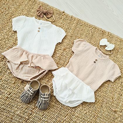 Kindermusthaves - Bloomer broekjes met linnen tops!