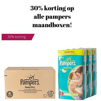 Kindermusthaves - TIP: 30% korting op alle pamper maandboxen!