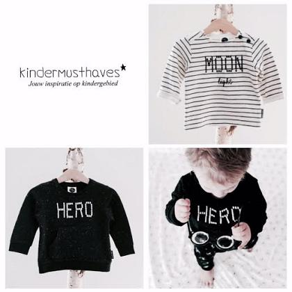 Kindermusthaves - Onze favo sweaters!