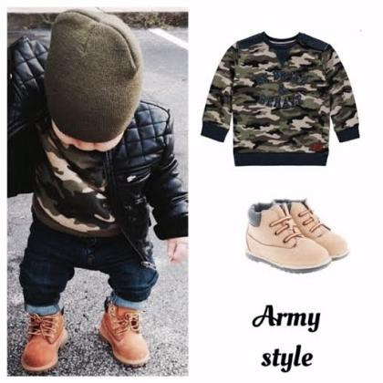 Kindermusthaves - Army stijl!