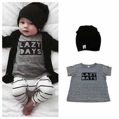 Kindermusthaves - Lazy days inspiratie!