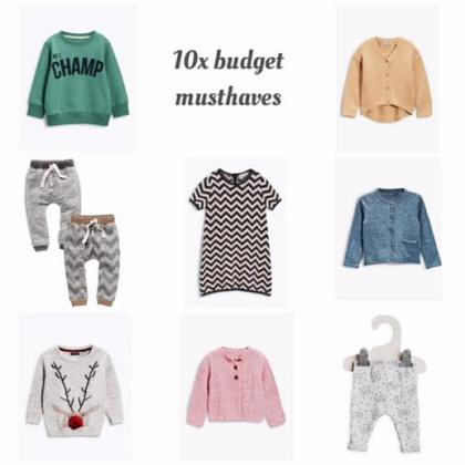 Kindermusthaves - It's budget day!