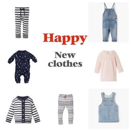 Kindermusthaves - Happy new clothes!