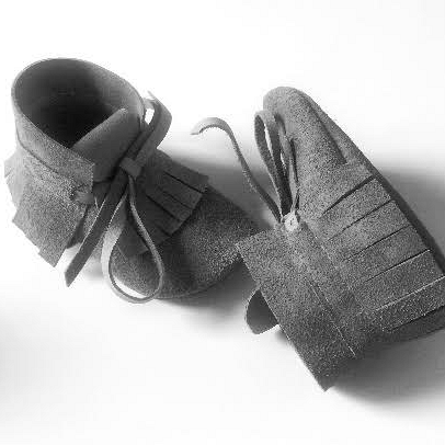 Kindermusthaves - High grey moccasin!
