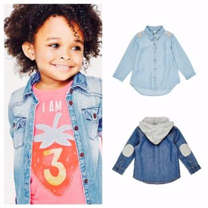 Kindermusthaves - Denim voert de boventoon!