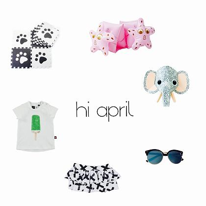 Kindermusthaves - Dé Kindermusthaves van April!