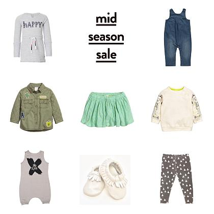 Kindermusthaves - Mid season sale items!