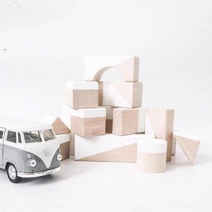 Kindermusthaves - 6x houten speelblokken!
