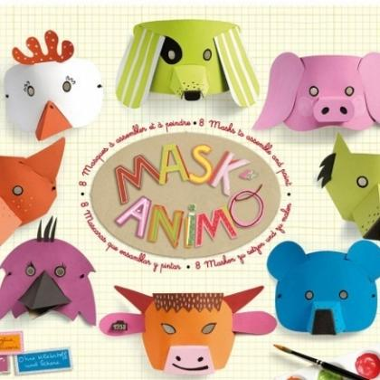 Kindermusthaves - Knutsel Tip: MASK'ANIMO