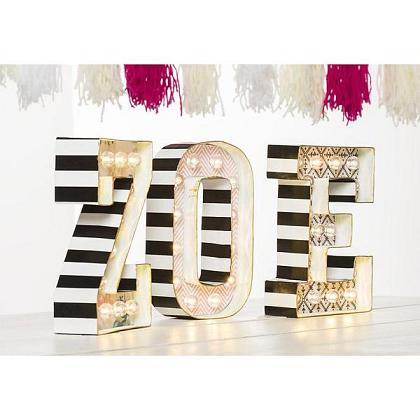 Kindermusthaves - TIP: Style jouw lichtletters!