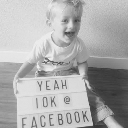 Kindermusthaves - YEAH! 10.000 volgers op Facebook!