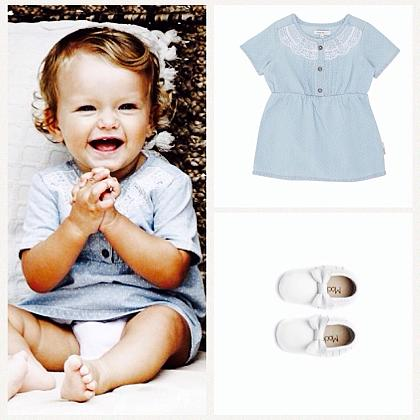 Kindermusthaves - Hip jurkje in spijkerstof