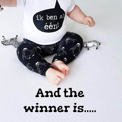 Kindermusthaves - GIVE AWAY WINNER: Jufz verjaardagsshirt!