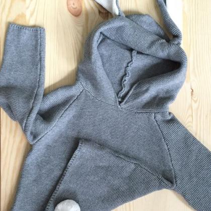 Kindermusthaves - Bunny ears sweater!
