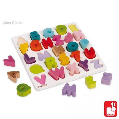 Kindermusthaves - Houten alfabetpuzzel!