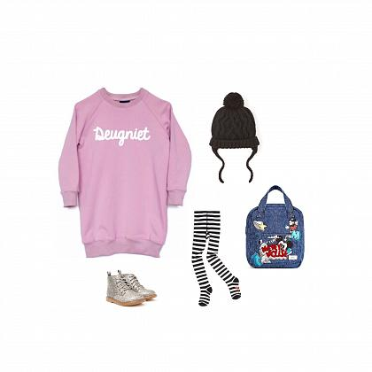 Kindermusthaves - Deugniet sweaterjurk!