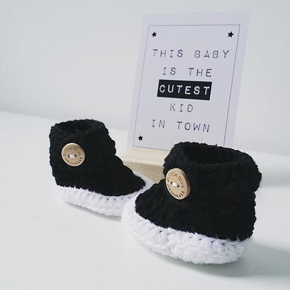 Kindermusthaves - Newborn slofjes!