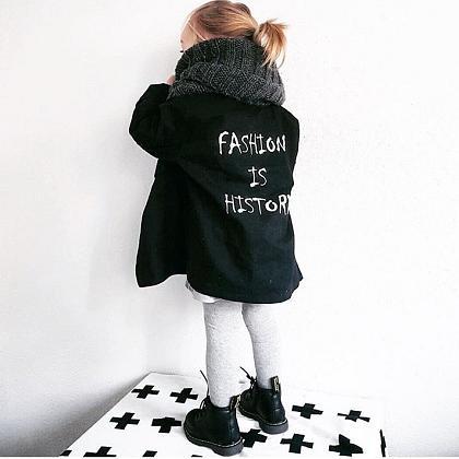 Kindermusthaves - Slogan-jacket