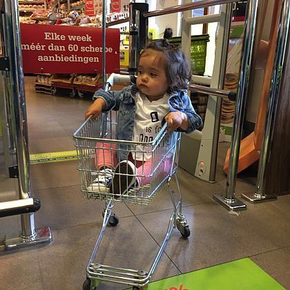 Kindermusthaves - BLOG: Tips om boodschappen te doen met een dreumes die net kan lopen!