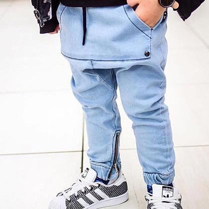 Kindermusthaves - Denim Jogger!