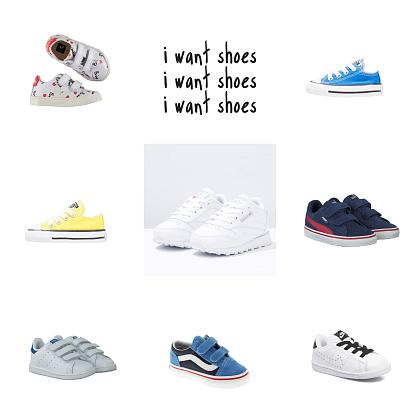 Kindermusthaves - I want sneakers!
