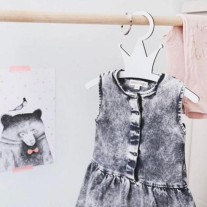 Kindermusthaves - Jeanslook jurkje!